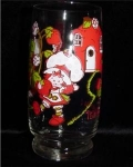 Click here to enlarge image and see more about item 850: Strawberry Shortcake  Glass