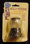 Click here to enlarge image and see more about item 852s: Holly Hobbie Miniature Metal Gumball Machine