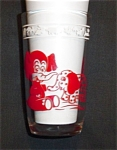 Click here to enlarge image and see more about item 869s: Swanky Swigs Elephant Glass