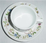 Click here to enlarge image and see more about item 870: BIA International Cordon Bleu Cup & Saucer