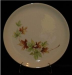 Click here to enlarge image and see more about item 87: Salem Maple Leaf Dinner Plate