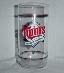 Click here to enlarge image and see more about item 880: 1991 Minnesota Twins Drinking Glass