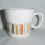 Click here to enlarge image and see more about item 883: Noritake Progression Coffee Mug