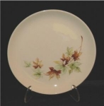 Click here to enlarge image and see more about item 88: Salem Maple Leaf Salad Plate