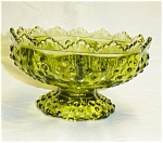 Click here to enlarge image and see more about item 890s:  Hobnail Candleholder Fenton?