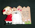 Click here to enlarge image and see more about item 897s: Enesco Dear God Figurine