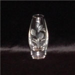 Click here to enlarge image and see more about item 898: Lead Crystal Bud Vase