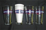Bud Light Beer Glasses