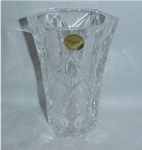 Click here to enlarge image and see more about item 907: Lead Crystal Vase
