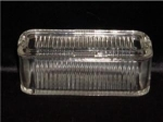 Click here to enlarge image and see more about item 921: Glass Refrigerator Dish