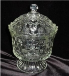 Click here to enlarge image and see more about item 942: Homco Candy Dish