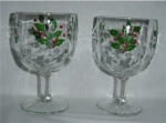 Click here to enlarge image and see more about item 947: Christmas Goblets
