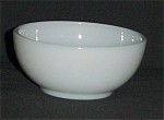 Click here to enlarge image and see more about item 957s: Fire King White Cereal Bowl