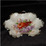 Click here to enlarge image and see more about item 975: Handpainted Mint Dish