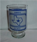 Click here to enlarge image and see more about item 978: Dallas Cowboys Beer Glass