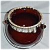 Click to view larger image of USA Brown Drip Soup Pot (Image2)