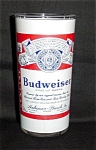Click here to enlarge image and see more about item 998s: Budweiser Beer Glass