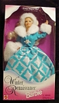 Click here to enlarge image and see more about item b121: 1996 Winter Renaissance Barbie Doll