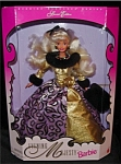 Click here to enlarge image and see more about item b20: 1996 Evening Majesty Barbie Doll