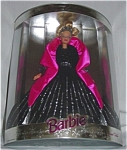 Click here to enlarge image and see more about item b35: 1998 Happy Holidays Barbie Doll