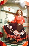 Click here to enlarge image and see more about item b48: 1999 Coca-Cola Barbie Doll