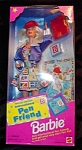 Click here to enlarge image and see more about item b55: 1995 International Pen Friends Barbie Doll