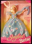 Click here to enlarge image and see more about item b66: 1996 Songbird Barbie Doll