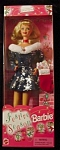 Click here to enlarge image and see more about item b70: 1997 Festive Season Barbie doll