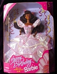 Click here to enlarge image and see more about item b78: 1996 Happy Birthday Barbie Doll
