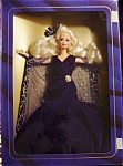 Click here to enlarge image and see more about item b93: 1995 Sapphire Dream Barbie Doll