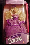 Click here to enlarge image and see more about item b94: 1992 Very Velvet Barbie Doll