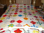 Click to view larger image of Nine Patch Quilt Top (Image2)
