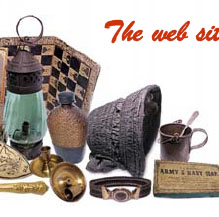 Click for Civil War Era antiques