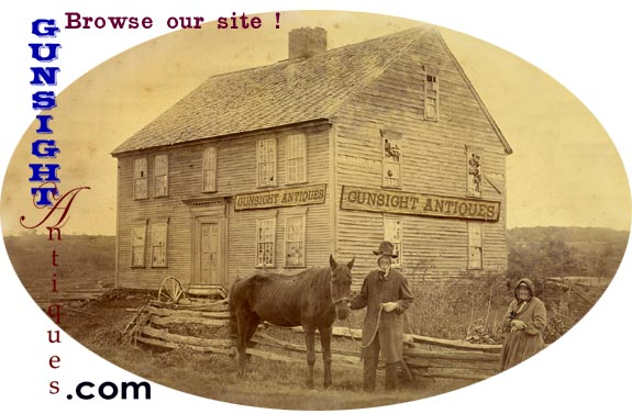Click here to browse our catalog of Civil war memorabilia and americana