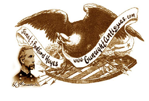 Click to view Civil War Memorabilia and Americana from Gunsight Antiques