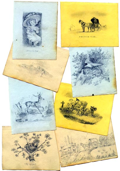 early 19th Century to Civil War era DRAWINGS (Image1)