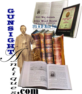 CIVIL WAR JOURNALS OF JOHN MEAD GOULD 1861-1866 (Image1)