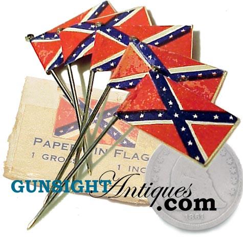U. C. V. CONFEDERATE Civil War Vet LAPEL PIN (Image1)