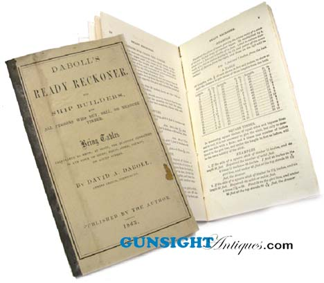 1863  READY RECKONER (Image1)