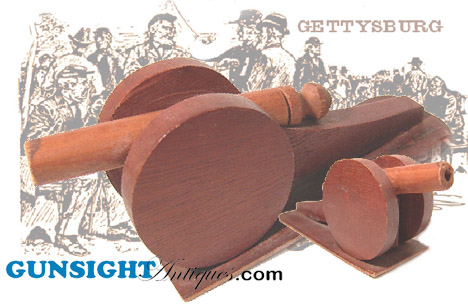 GETTYSBURG Civil War SOUVENIR CANNON (Image1)