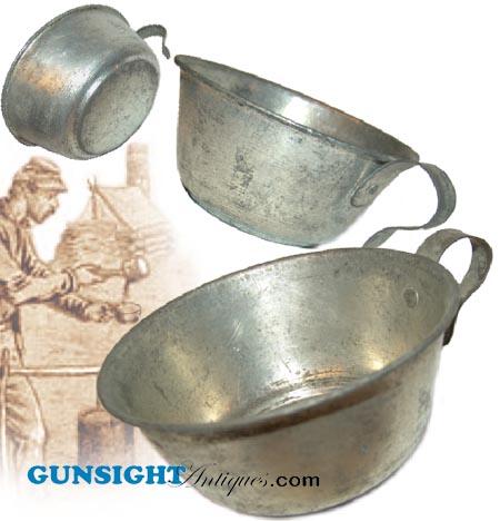 Civil War era TINNED IRON CUP (Image1)