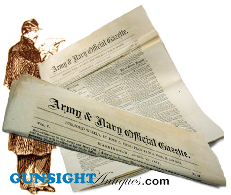 9/20/1864 - ARMY & NAVY OFFICIAL GAZETTE (Image1)