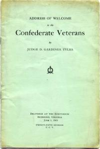 CIVIL WAR  vet's CONFEDERATE VETERAN  ADDRESS (Image1)