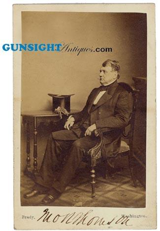 SIGNED Civil War SENATOR JOHN R. THOMPSON - Brady (Image1)