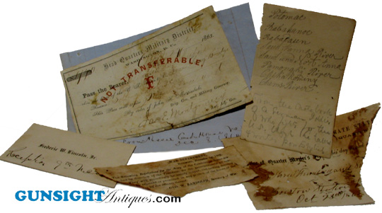 Ned Barton's - FRAGMENT'S OF (Civil War) HISTORY (Image1)