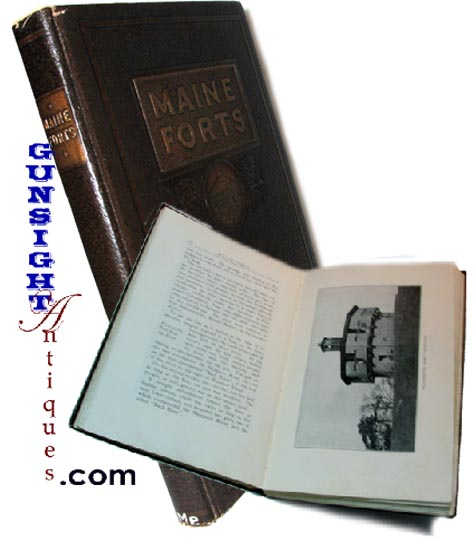 c.1924 – author signed MAINE FORTS by Henry Dunnack (Image1)