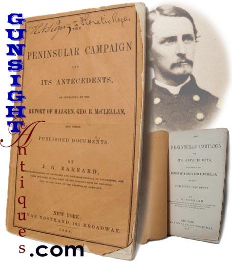 Bvt. Gen. H. Rogers' Civil War date - PENINSULAR CAMPAIGN History (Image1)
