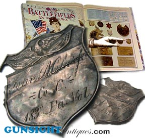 Gunsight Antiques-Civil War Era Antiques :  collector antique civil war lanterns