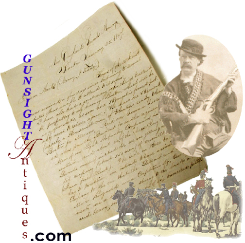 Mexican War Letter /  Ned Buntline Find  (Image1)