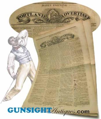 1831 BLACK UPRISING News account / forerunner, NAT TURNER Affair (Image1)